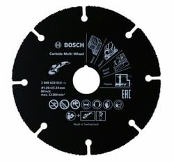 Rezací kotúč Carbide Multi Wheel 125 mm 125 mm; 1 mm; 22,23 mm